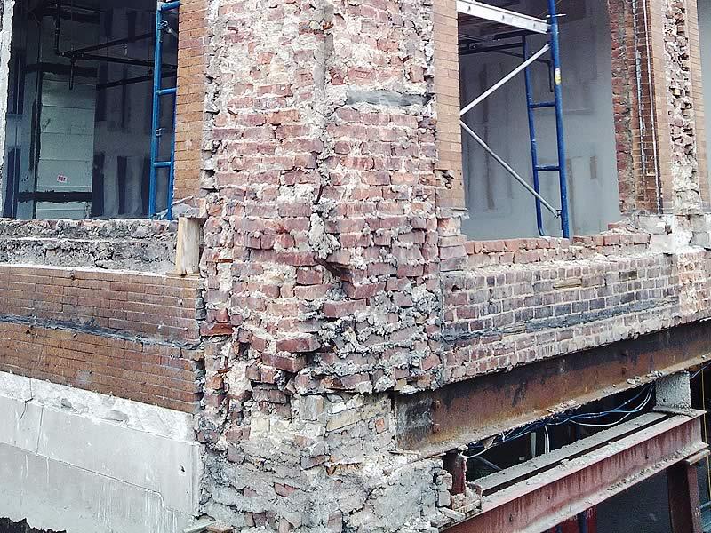 TD Bank, Queens - Concrete, Construction, Masonry