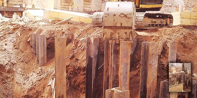 New York City Job Site Excavation