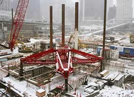 Concrete Slab for Freedom Tower