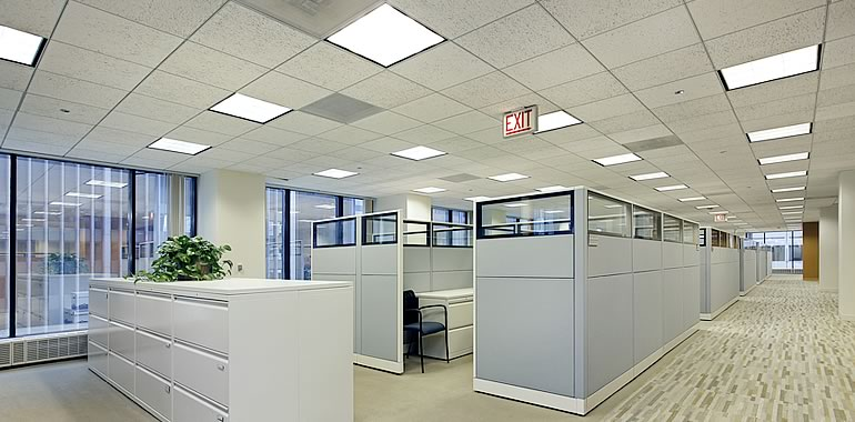 Long Island Concrete Inc. temporary office in Long Island City, New York