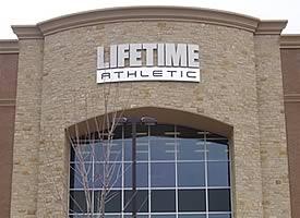 Masonry Stonework at Lifetime Athletics