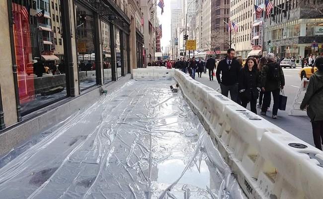 Saks Fifth Avenue Nyc Concrete Construction Masonry